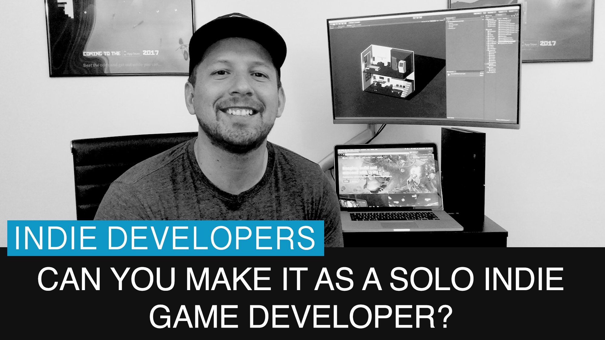 Can you make it as a solo indie game developer?